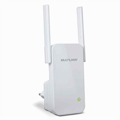 Repetidor Wireless 300MBPs Com 2 Antenas Multilaser RE056