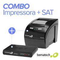 Combo Impressora Bematech MP-4200 TH (Guilhotina) + SAT Fiscal RB-1000 FI
