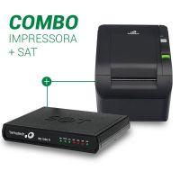 Combo Bematech Impressora MP-100S TH (USB/Serrilha) + Sat Fiscal RB100FI