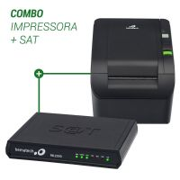 Combo Bematech Impressora MP-100S TH (USB/Serrilha) + Sat Fiscal RB2000