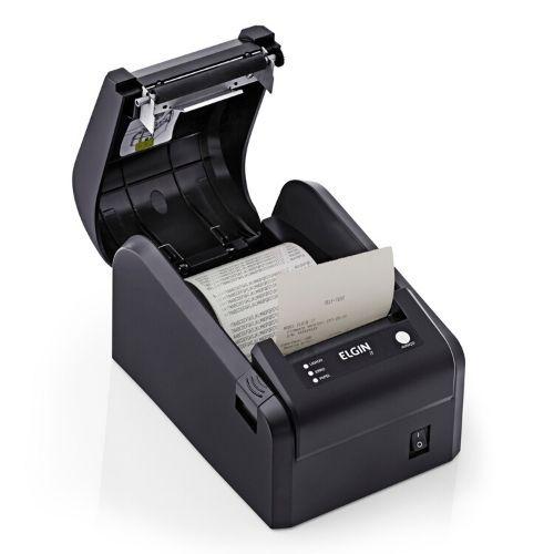 Impressora Térmica Não Fiscal Elgin I7 USB/Serrilha Preta