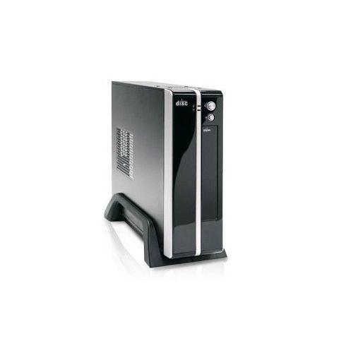 Gabinete K-Mex CI-9E89 Mini-ITX Preto e Prata - Fonte 180W