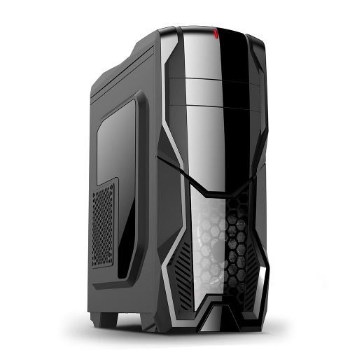 Gabinete GAMER NFX DARKSHIELD Preto (Sem Fonte e Cooler)