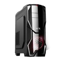 Gabinete GAMER NFX DarkShield Preto (Sem Fonte e Fan Coolers)