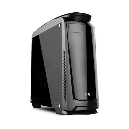 Gabinete NFX Gamer DARKFACE 2 (lateral em acrílico / sem fonte / sem cooler)