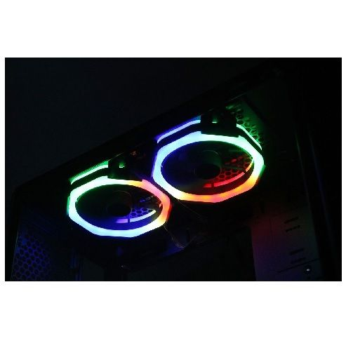Gabinete GAMER Risemode GLASS 04 RGB (Sem Fonte)