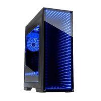Gabinete GAMER Gamemax INFINIT Black RGB M908 (Sem Fonte)