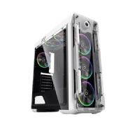 Gabinete GAMER Gamemax OPTICAL G510-W White RGB (Sem Fonte)