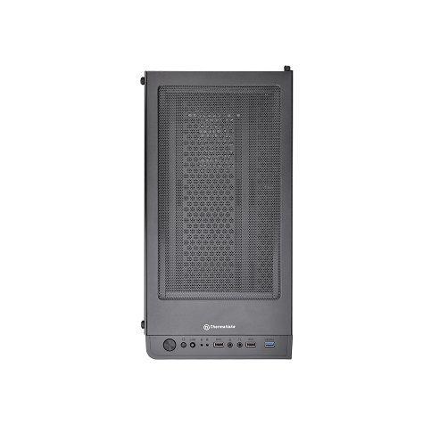 Gabinete GAMER Thermaltake V200 Black Lateral com Vidro Temperado com 1 Fan Cooler de 120mm  (Sem Fonte)