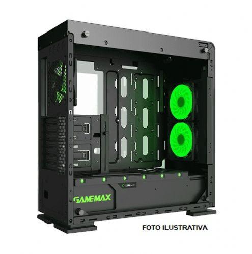 Gabinete GAMER Gamemax VEGA M909 Black RGB (Sem Fonte)