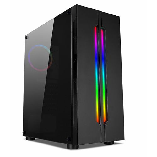 Gabinete GAMER NFX DarkFortress (Sem Fonte e Fan Coolers)