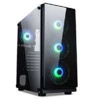 Gabinete GAMER NFX DarkHunter (Sem Fonte e Fan Coolers)