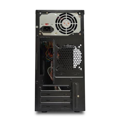 Gabinete NFX 603 2 Baias Preto com Fonte 200W (Sem Cabo de Força)