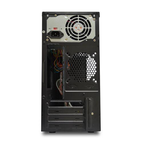Gabinete NFX Basic 2 Baias Preto com Fonte 230W (Sem Cabo de Força)