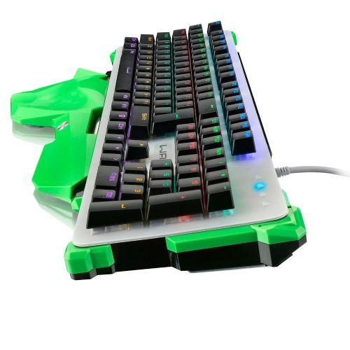 Teclado USB Gamer Mecânico WARRIOR TC216 LED RGB