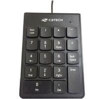 Teclado Numérico USB Preto C3Tech KN-10BK