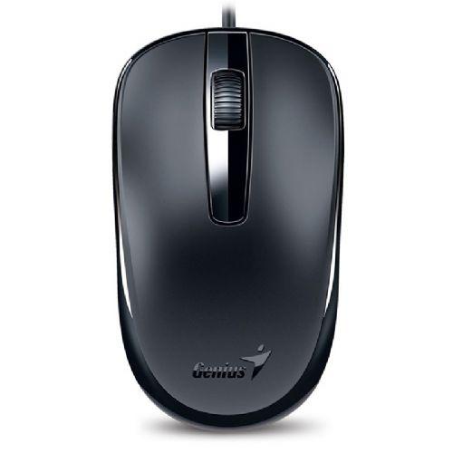 Kit Teclado e Mouse USB Genius KM-125 Preto