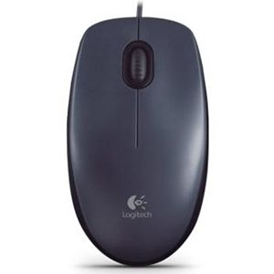 Mouse USB 1000dpi Preto Logitech M100