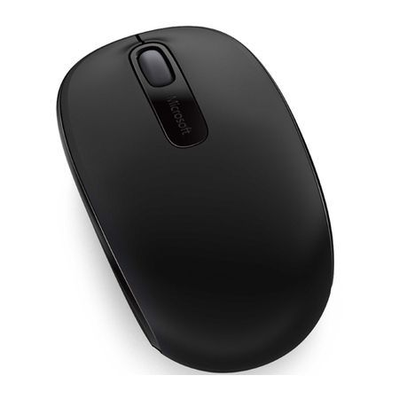 Mouse USB Sem Fio Preto Microsoft 1850