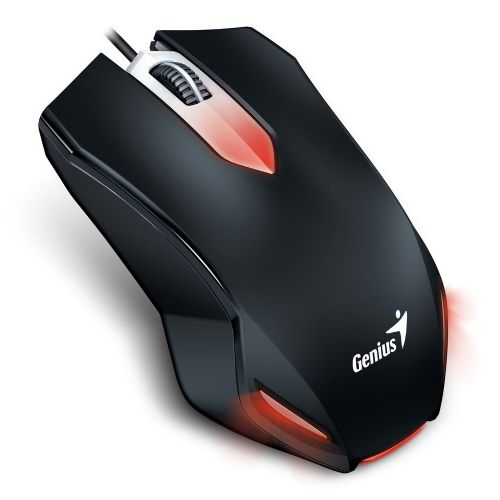 Mouse USB Gamer 1000dpi Genius X-G200 - Preto (31040034100)
