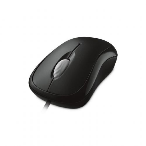 Mouse USB 800dpi Microsoft Basic - Preto (P58-00061)
