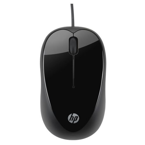 Mouse USB 1000dpi HP - Preto (X1000)