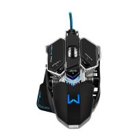 Mouse Gamer Warrior 4000dpi com Mousepad - Preto / USB (MO246)