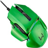 Mouse Gamer Warrior 8200dpi - Preto / USB (MO247)