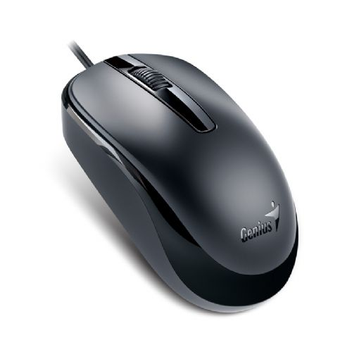 Mouse USB 1200dpi Genius DX-120 - Preto