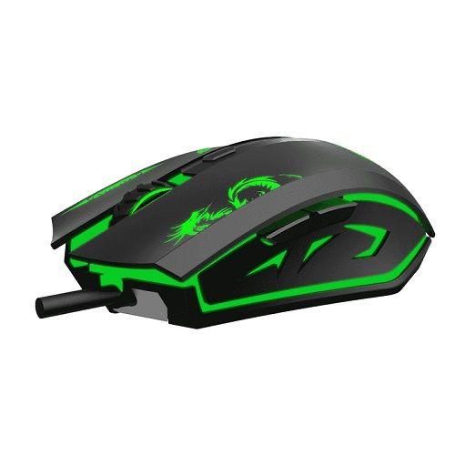 Mouse USB GAMER 3200dpi Gamemax MG386