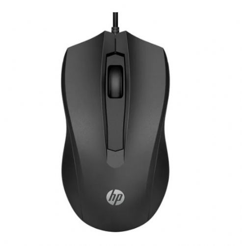 Mouse USB 1600DPI Preto HP 100
