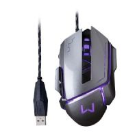 Mouse GAMER USB 3200DPI Grafite Warrior Ivor MO262