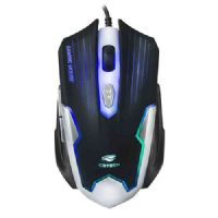 Mouse USB GAMER 2400DPI Preto/Prata C3Tech MG-11BSI