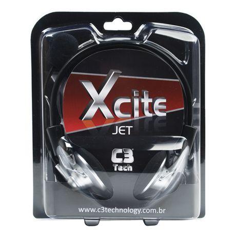 Fone com Microfone C3tech Xcite Jet MI-2330RS