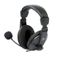 Fone com Microfone C3Tech Voicer Comfort Preto PH-60BK