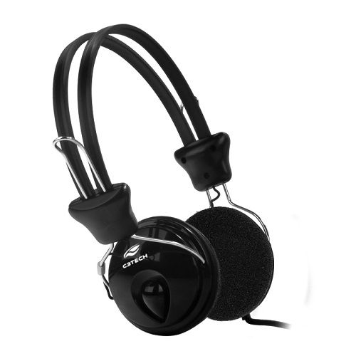 Fone com Microfone C3Tech Tricerix Preto PH-80BK