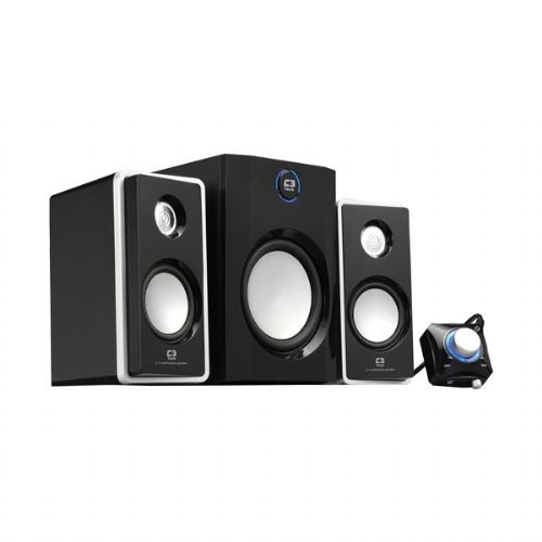 Caixa Sub 2.1 10w Rms C3tech TCS3150 Black Piano