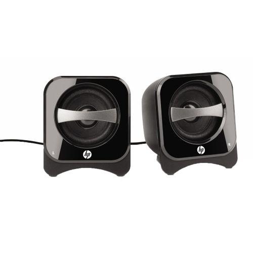 Caixa Sub USB 2w Rms HP BR387AA - Preto