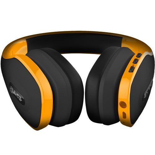 Fone de Ouvido com Microfone Pulse Bluetooth Amarelo - PH151