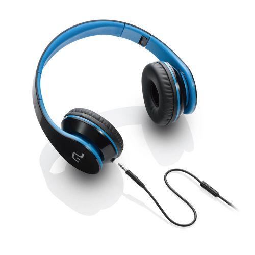 Fone de Ouvido Multilaser com Microfone - Vermelho/Azul - P2 (PH113)