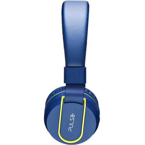 Fone de Ouvido com Microfone BLUETOOTH - Pulse - Azul/Verde - (PH218)