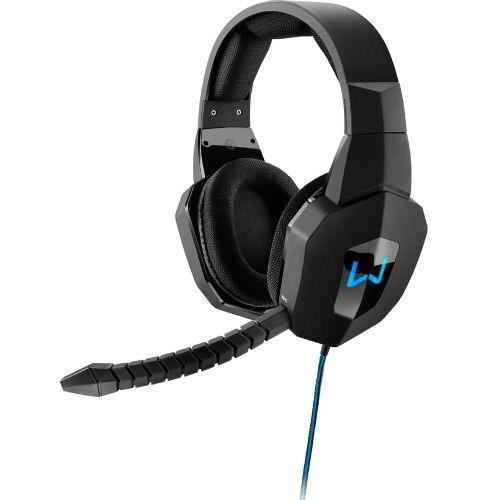 Fone de Ouvido com Microfone Gamer Warrior - Azul / P2 (PH179)