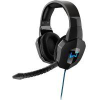 Fone de Ouvido com Microfone Gamer Warrior - Azul (PH179)