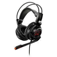 Fone de Ouvido com Microfone Gamer Warrior 7.1 Arco - Preto / USB (PH144)