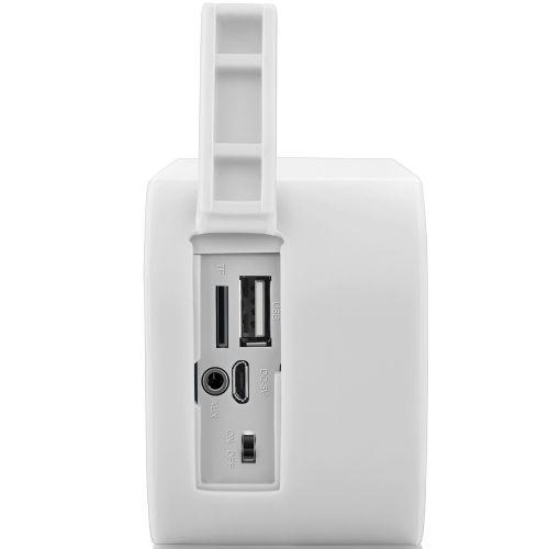 Caixa de Som Bluetooth Pulse 10W RMS / USB / Entrada para cartão de memória (SP-207) - Branca