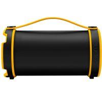 Caixa de Som Bluetooth Pulse Bazooca (SP-207) - Preta / Amarela