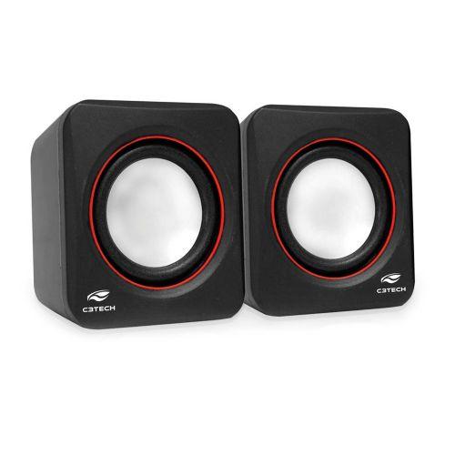 Caixa de Som 3W RMS C3tech USB (SP-301BK) - Preta