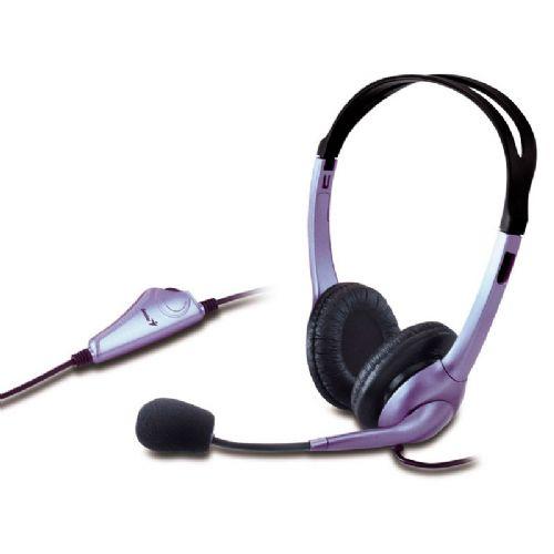 Fone Com Microfone GENIUS HS-04S Arco ajustável P2