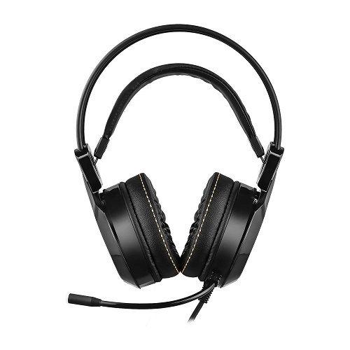 Fone com Microfone GAMER RGB 7.1 com Vibração Warrior Thyra PH290