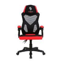 Cadeira GAMER ELG Gear com Apoio Lombar CH18RD Preto/Vermelho